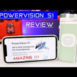 The PowerVision S1 Phone Companion does more than the competition!